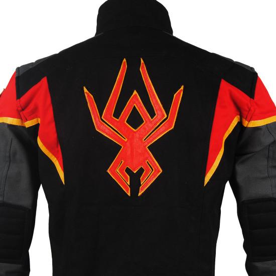 Miles Morales Spider man Fabric  Jacket