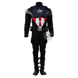 New Captain America Bucky Custom  suit ( Textured Stretch Fabric )