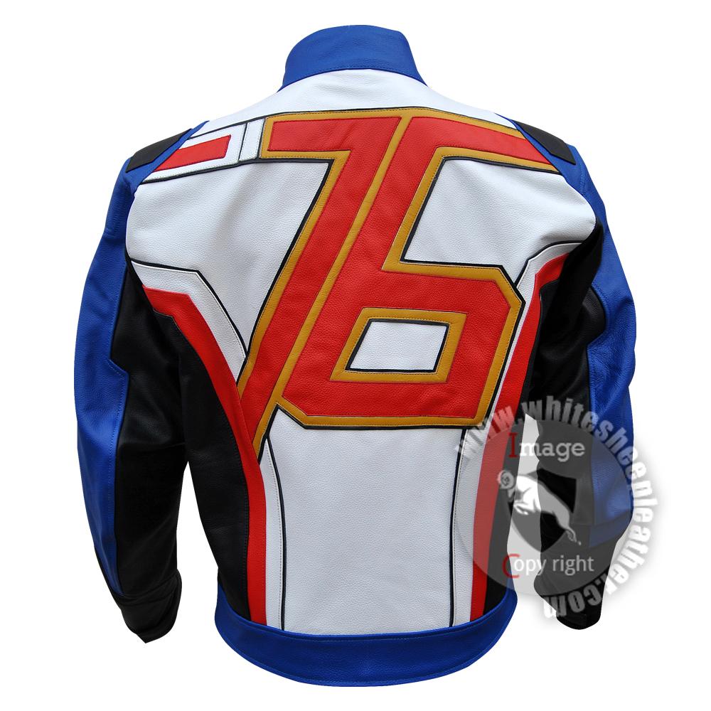 46edd8737 Overwatch soldier 76 leather jacket