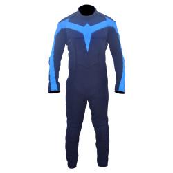 Nightwing Custom Suit (Textured Stretch Fabric )
