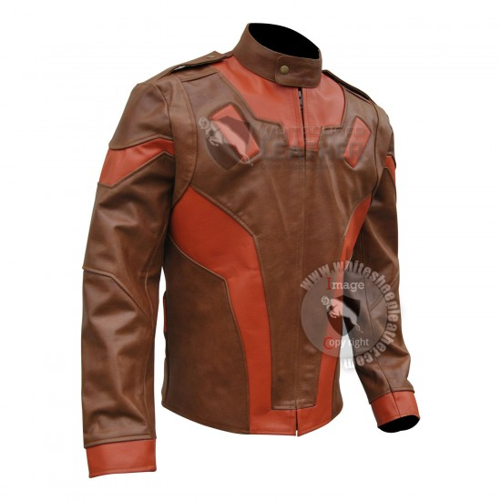 Rocketeer Brown Leather Jacket