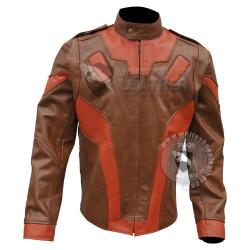 Rocketeer Brown Leather Jacket