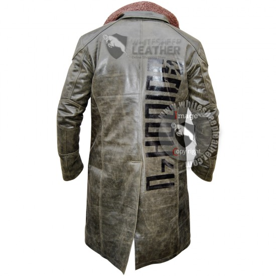 Ryan Gosling Officer k's Blade Runner 2049 Leather coat