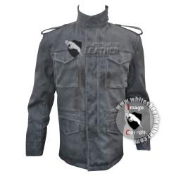 T-800 Terminator arnold schwarzenegger  M-65 field jacket (weathered )