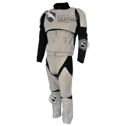 Star Wars Stormtrooper Motorcycle Real Leather Suit / Stormtrooper costume suit