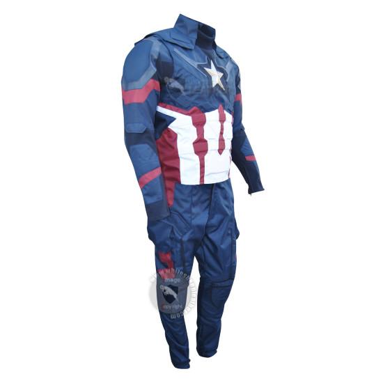 Captain America Civil war Steve Rogers Full Costume suit