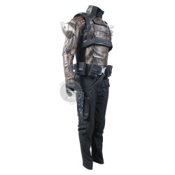 Captain America Winter Soldier : Bucky Barnes premium quality Costume (Weathered )