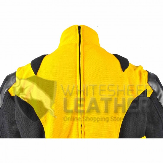 Wolverine Yellow and Black Costume suit (Textured Stretch Fabric )