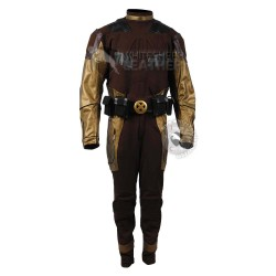 Wolverine Brown and Gold Classic Jumpsuit