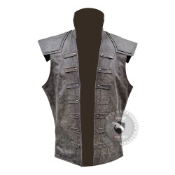 assassin creed Real leather vest