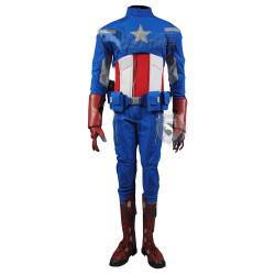 The Avengers : captain America (2012) Bonny Suit  (Screen Printed Suit)