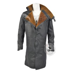Ryan Gosling Officer k's Blade Runner 2049 Black Leather coat