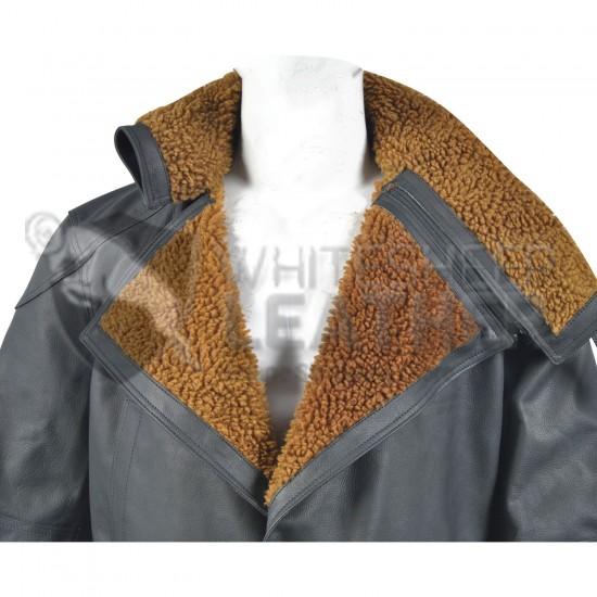 Ryan Gosling Officer k's Blade Runner 2049 Black Leather coat