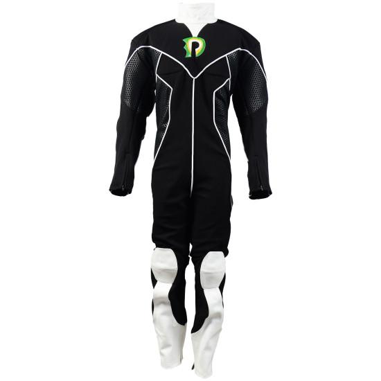 Danny Phantom Costume jumpsuit ( Textured stretch fabric )