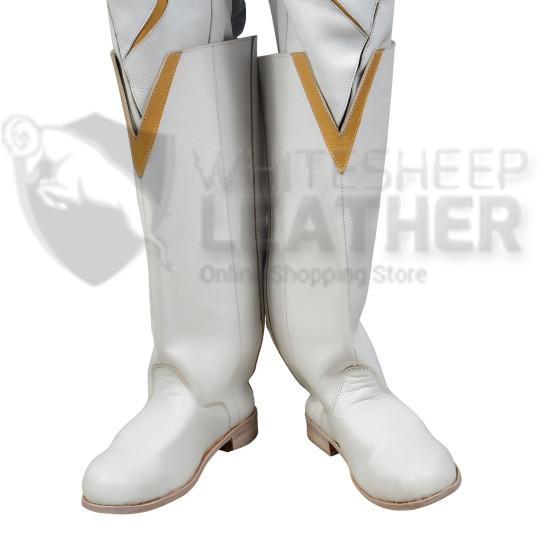 flash : GodSpeed August Heart Leather Costume