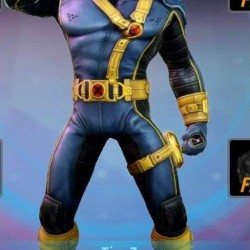 Scott-Summers Cyclops suit (Textured Stretch Fabric )