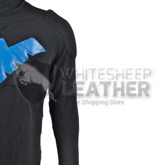 Nightwing Young Justice Suit (Textured Stretch Fabric )