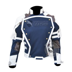 Star Lord Guardians of the Galaxy blue and white Jacket