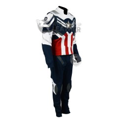 The Falcon and The Winter Soldier : Sam Wilson Captain America Suit ( Textured Stretch Fabric )