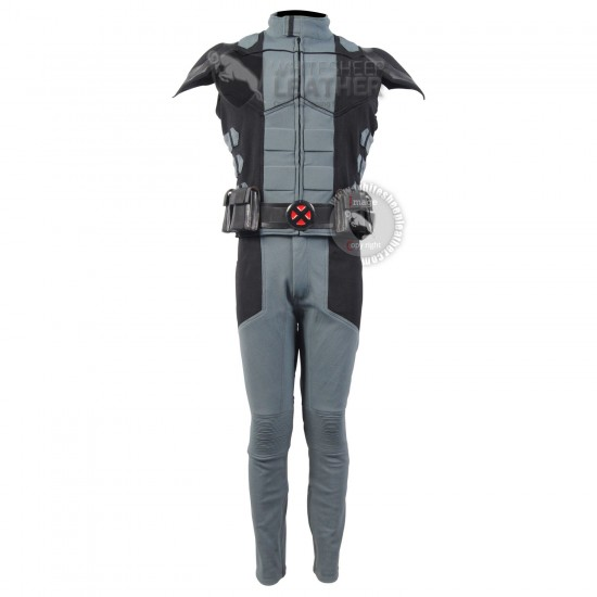 Wolverine Gray and Black suit  (Textured Stretch Fabric )