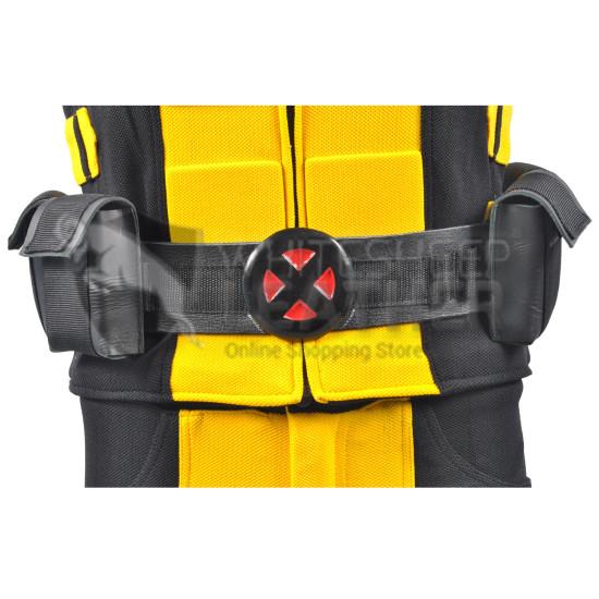 Wolverine Black belt with metal buckle
