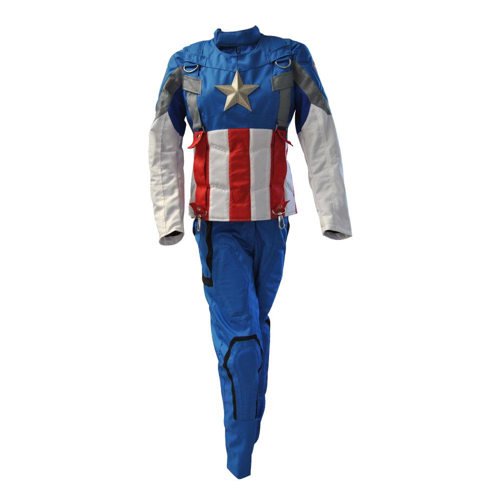 Captain America The First Avenger Chris Evans Costume Suit -5386