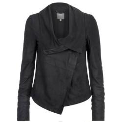 Women Celebrity Fashion Leather Jacket
