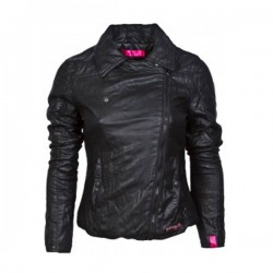 Black Classic Biker Leather Jacket