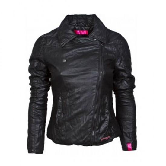 Black Classic Biker Leather Jacket