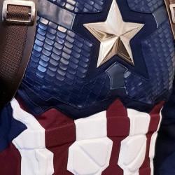 Captain America Steve Rogers Avengers 4 Endgame Costume Suit
