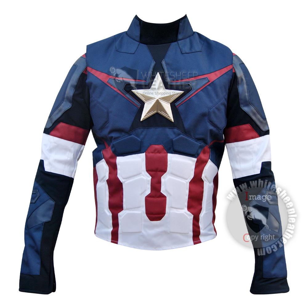 Avengers Age of Ultron Captain America Steve Rogers Costume