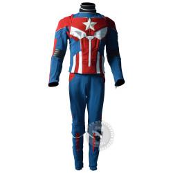 Captain America Ant-man mash up costume suit