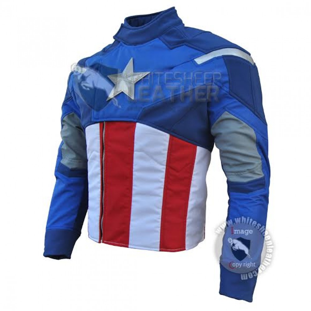 Captain America The Avengers Costume suit
