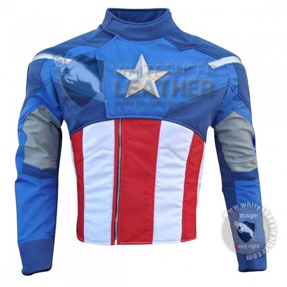 Captain America The Avengers Costume suit