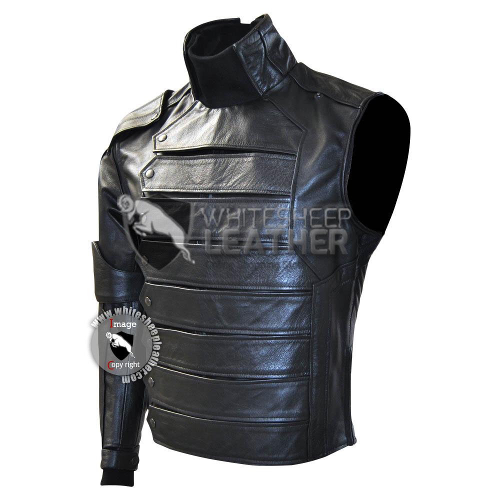 Captain America Winter Soldier : Bucky Barnes Costume suit