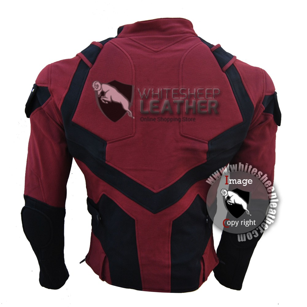 Charlie Cox Netflix Daredevil Costume Jacket with Accessories ( Textured Stretch Fabric )