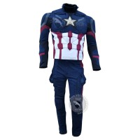 Chris Evans Captain America Civil war Costume Lycra suit