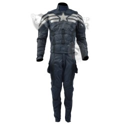 Captain America stealth strike premium  Suit ( Screen Printed Lycra )