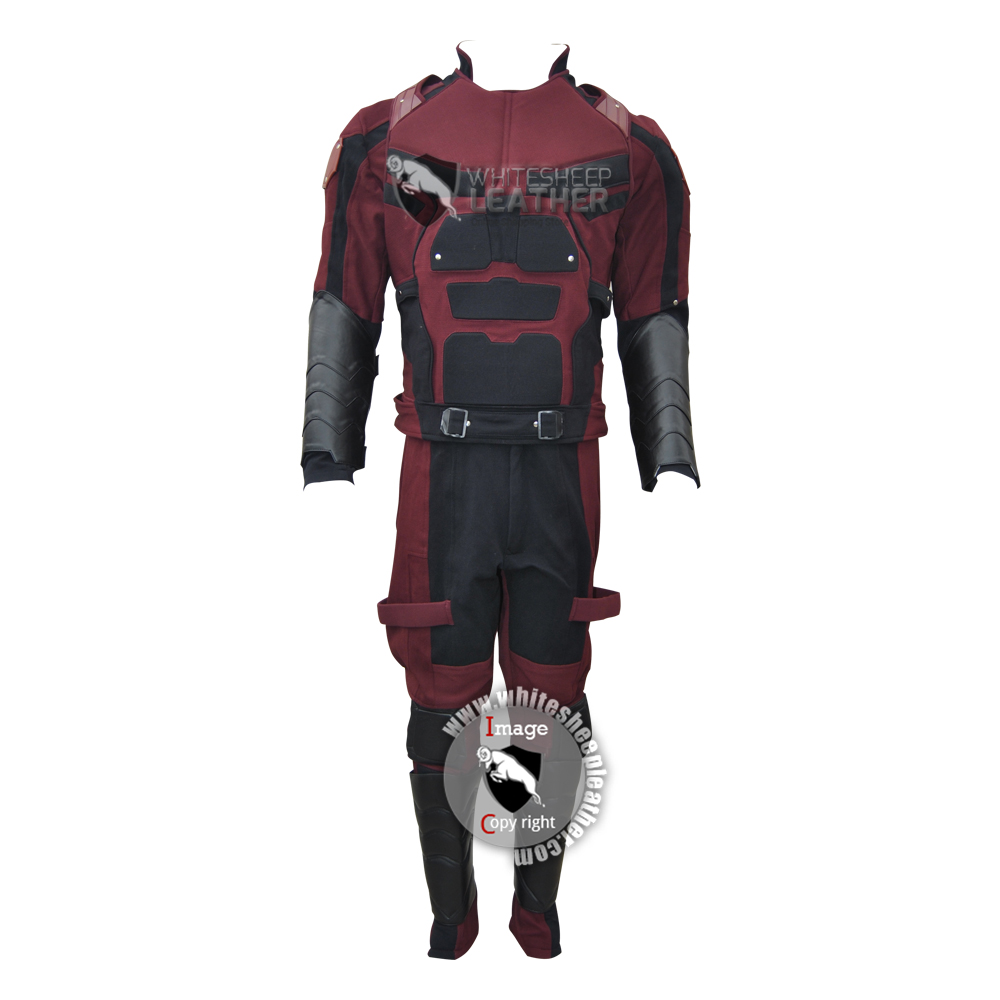 Daredevil season 2 Matt Murdock costume suit (Textured stretch fabric )
