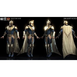 Doctor fate injustice 2 costume suit + Shoes