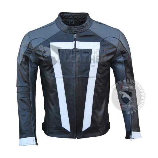 Gabriel Luna Agents Of Shield Ghost Rider Leather Jacket