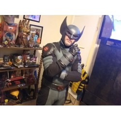 Wolverine X force Costume suit (Textured Stretch Fabric )