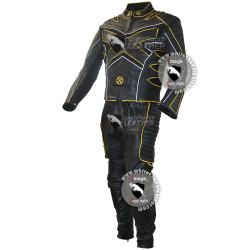 x men hugh jackman's wolverine Motorbike leather suit / x-men motorcycle cosplay