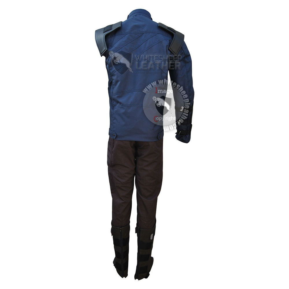 Avengers Infinity war the Winter Soldier Bucky Barnes cosplay costume