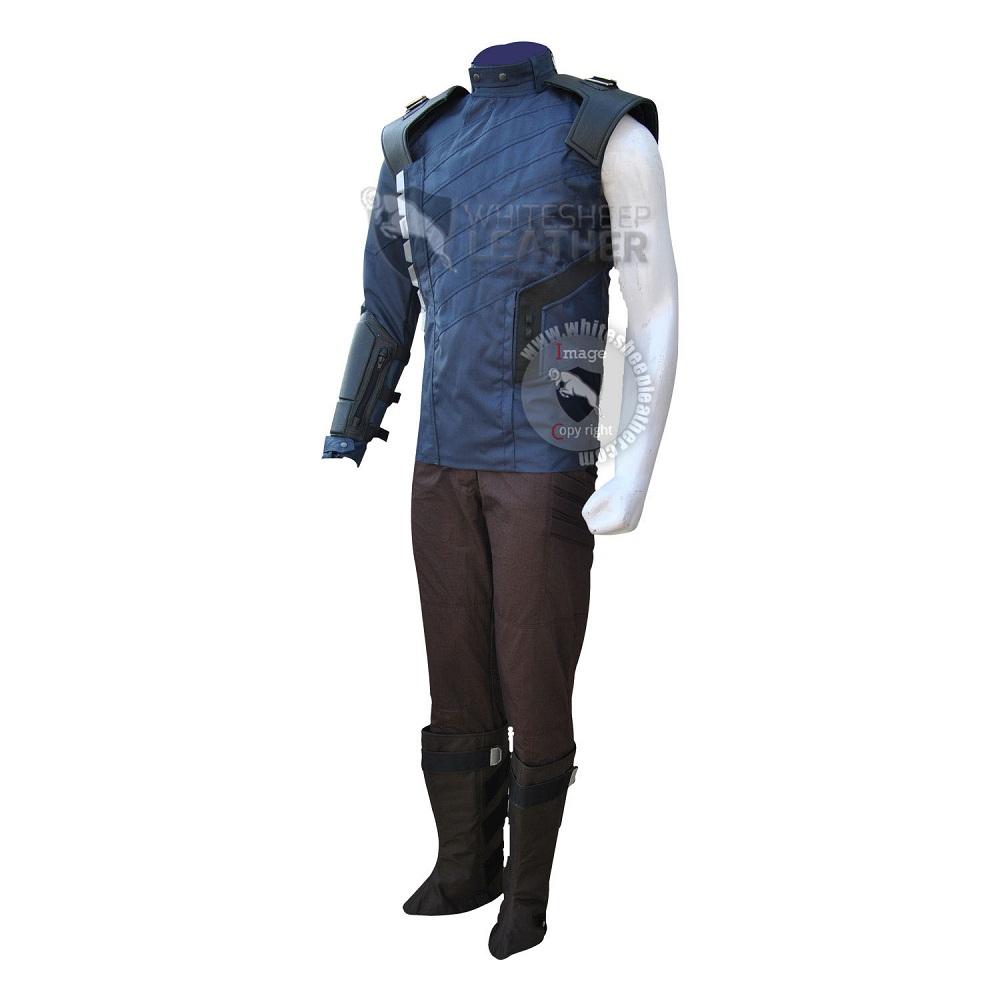 Avengers Infinity war the Winter Soldier Bucky Barnes cosplay costume