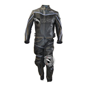Men Buell Motorcycle leather suit