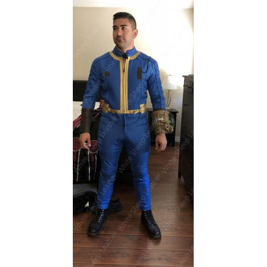 fallout cosplay suit Vault 4