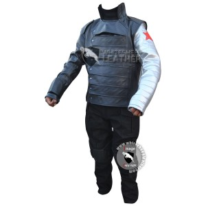Captain America Winter Soldier : Bucky Barnes Costume suit
