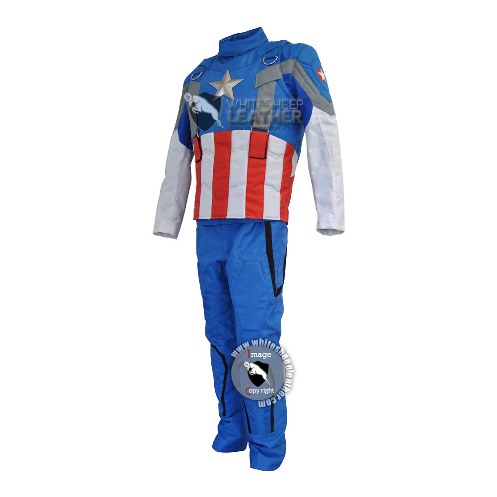Captain America Winter soldier Golden age suit ( smithsonian suit)
