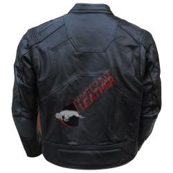 Jack Harper Oblivion Black Leather Jacket